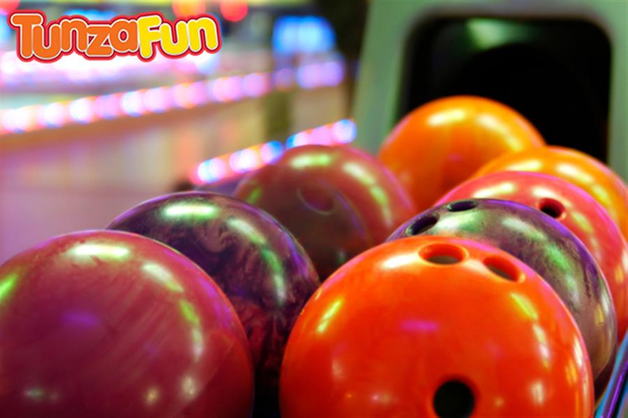 Game Of Bowling Or Laser Skirmish With A Yummy Fanta Icy Whirl