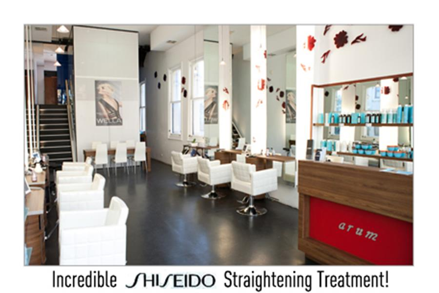 Just 129 For An Incredible Shiseido Hair Straightening