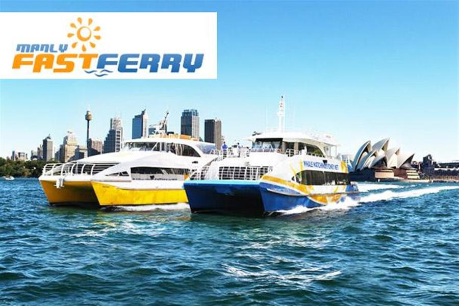 how to go manly beach by ferry from circulat quay