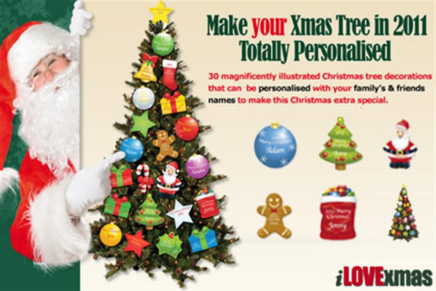 Personalised Christmas Decorations Adelaide