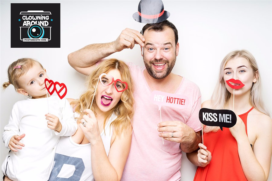 Party Photo Booth Hire With Props Attendant Amp All Pics